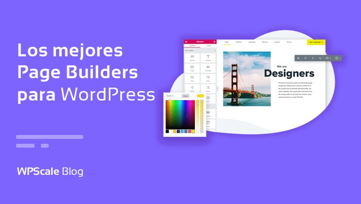 Mejores Page Builders de WordPress