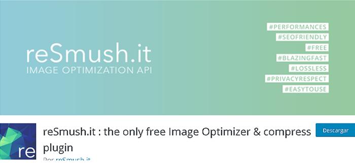 Comprimir imágenes con el plugin reSmush.it en WordPress