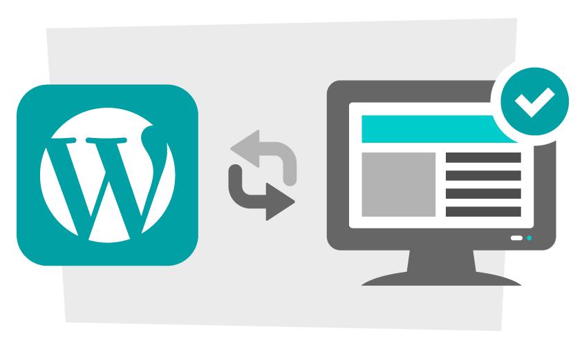 Comprobar actualizaciones disponibles en WordPress