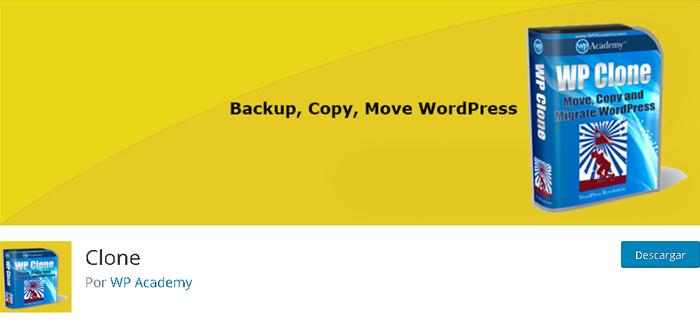 Con en biblioteca de plugins de WordPress